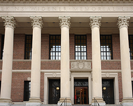 Widener Library at Harvard Yard